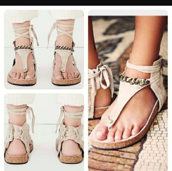 8827614da7d Free People Shoes - Free People Collins ankle cuff sandal